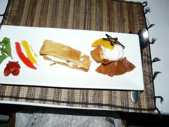 Garpu Restaurant : what a nice desert