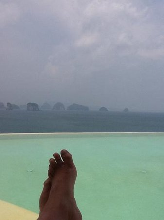 Six Senses Yao Noi: what a view