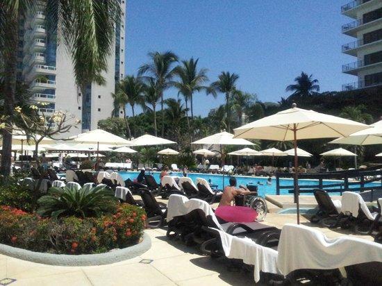 Grand Hotel Acapulco: Piscina