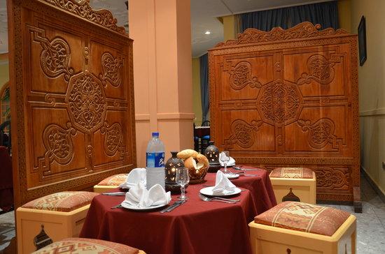 Hotel Le Tivoli : Restaurant Marocain