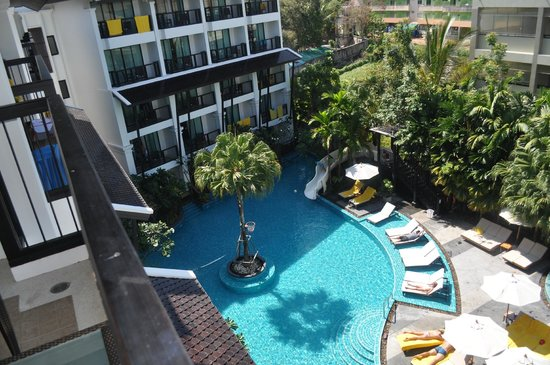 Centara Anda Dhevi Resort and Spa : View from Pool View room on top floor
