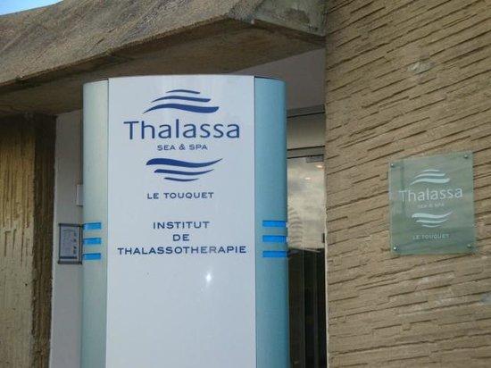 Thalassa Le Touquet: entrée du centre
