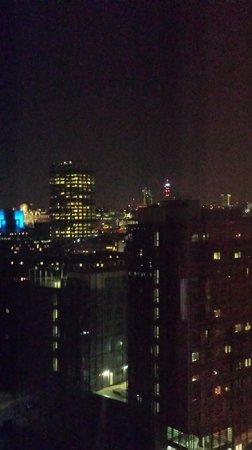 Ibis London Blackfriars : Vue de nuit du dernier étage