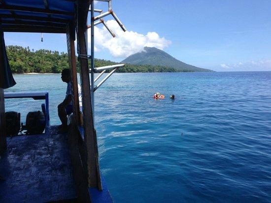 Siladen Resort & Spa: Dive & Snorkelling site off Bunaken Island
