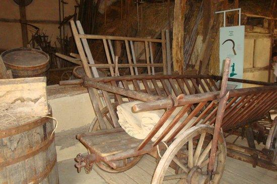 Freilichtmuseum Beuren: Alter Leiterwagen