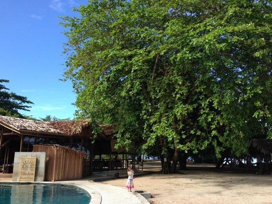 Siladen Resort & Spa: Near Pool & Bar area