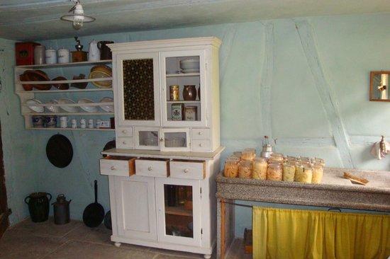 Freilichtmuseum Beuren: Frühere Küche
