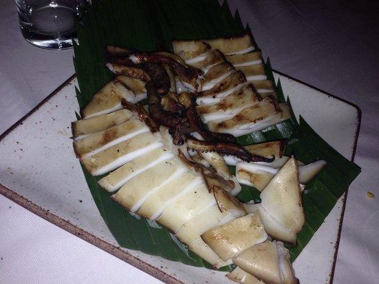 Kan Eang@Pier Restaurant : Grilled octopus