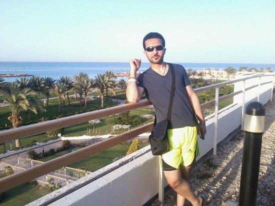 Hilton Hurghada Plaza: Beach scene
