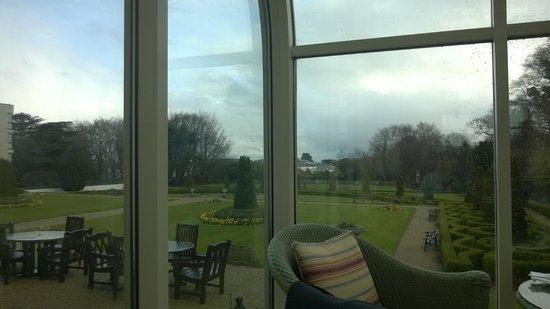 Radisson Blu St. Helen's Hotel, Dublin: Garden view