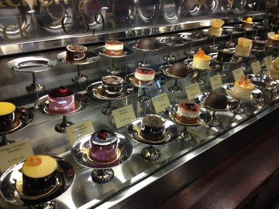 Rausch Schokoladenhaus: Mini-Törtchen