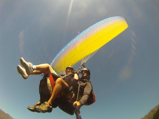 GForce Paragliding: Floating