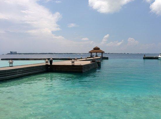 Kurumba Maldives: arrival jetty
