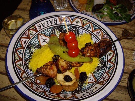 Bazar: Meat couscous