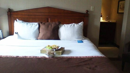 The Lord Nelson Hotel & Suites: The king bed!