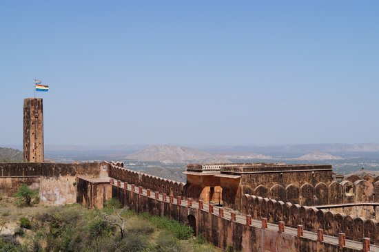 Jaigarh Fort : View from top 2
