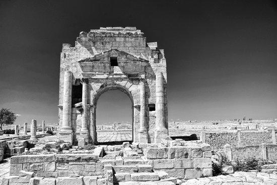 Makthar, Тунис: Arch of Trajan