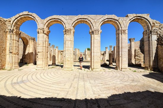Makthar, Tunisia: Great Baths