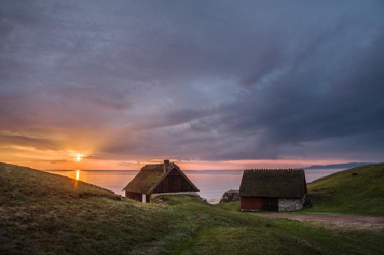 Skane County, Sweden: Sun rise in Haväng South East Skåne. Photo: Anders Tukler