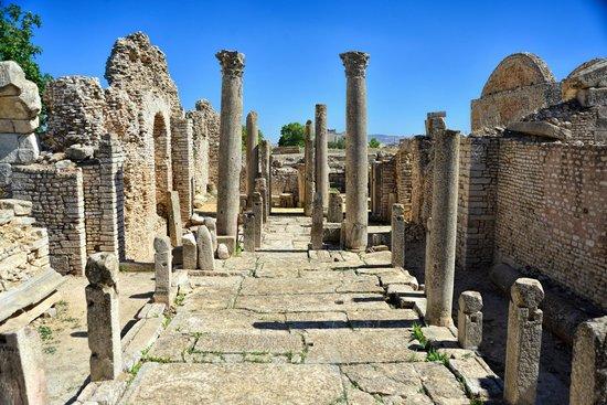 Makthar, Тунис: Basilica