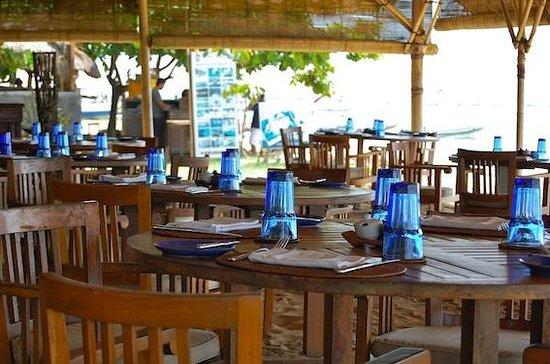 Cocos Beach Restaurant, Novotel Bali Benoa : the place