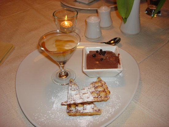 Hotel Gaensleit: Sample of fantastic dessert