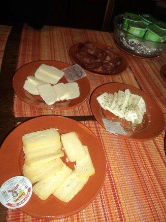 Monte do Serrado de Baixo: petit déjeuner
