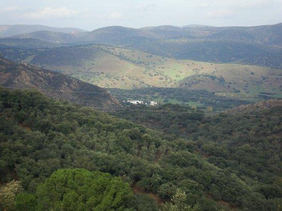 Casas La Escalera: Panorámica de la Sierra