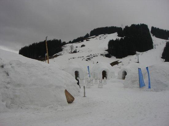 SkiWelt Wilder Kaiser - Brixental : Igloos in Brixen