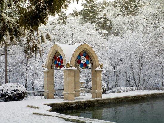 Зеркальный пруд зимой. - Изображение Национальный Парк Кисловодский,  Кисловодск - Tripadvisor