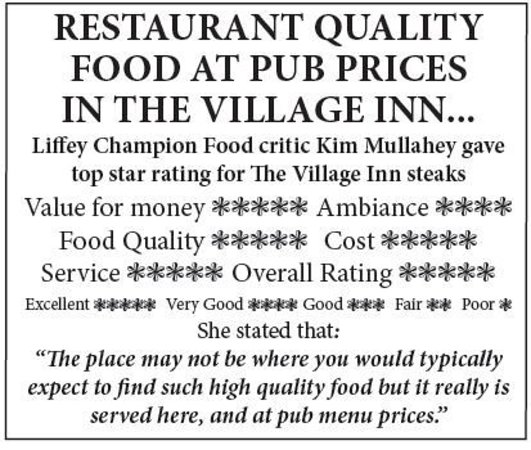 The Village Inn: Local Review