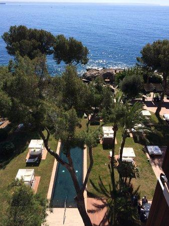 Gran Melia de Mar: View from room 608.
