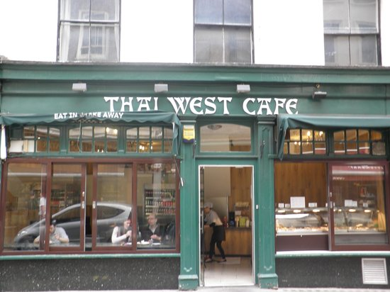 Photo of Asian Restaurant Thai West Cafe at 87 Brewer Street, Soho, London, United Kingdom