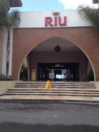 Hotel Riu Palace Tikida Agadir : l'entrée