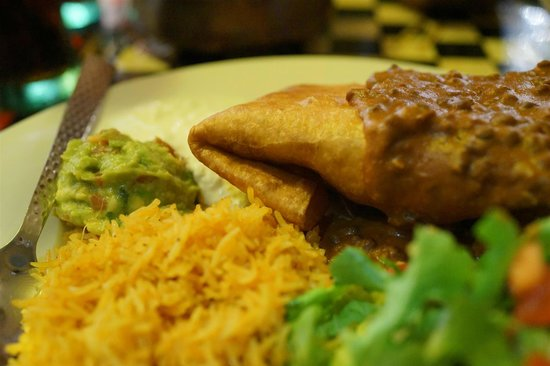 Indiyum Indian Restaurant: chimichanga