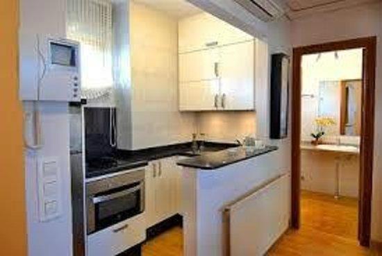 Yamasol Apartments: Cocina totalmente equipada (para 4 personas)