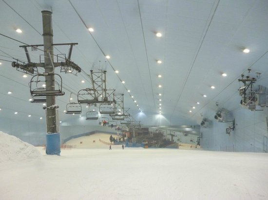 Citymax Hotels Al Barsha: skiing in mall of the emerates