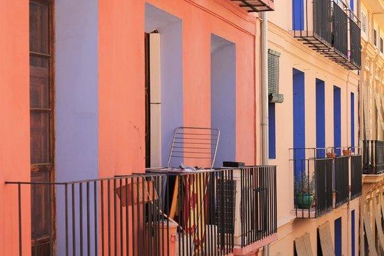 Antigua Morellana HS: dettaglio terrazzo