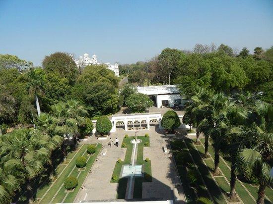 Usha Kiran Palace: view of UKP