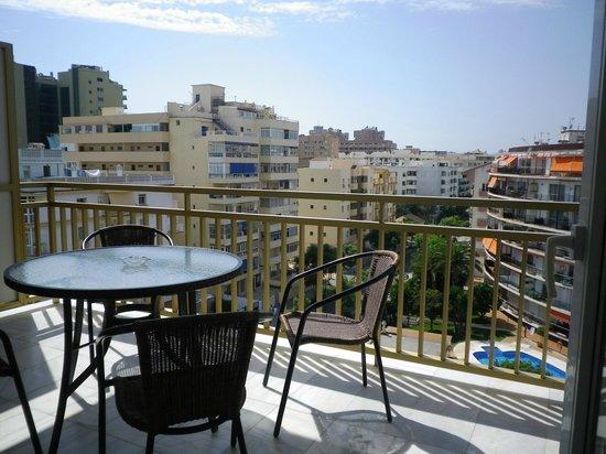 Yamasol Apartments: Vista desde la terraza.