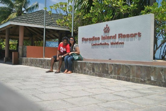Paradise Island Resort & Spa : Entrance