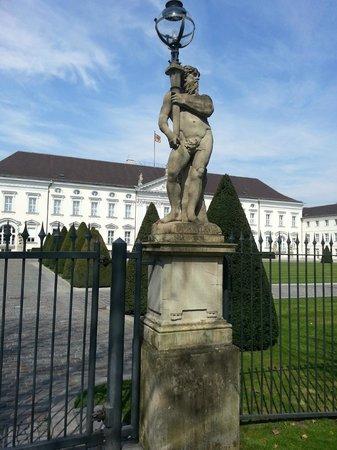 Tiergarten: Schloss Bellevue