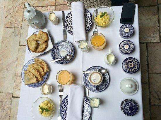 Riad Dixneuf La Ksour: Breakfast