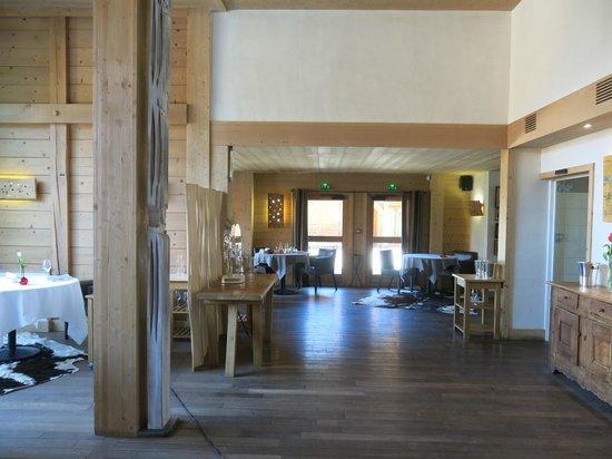 Relais & Chateaux Flocons de Sel : salle a manger