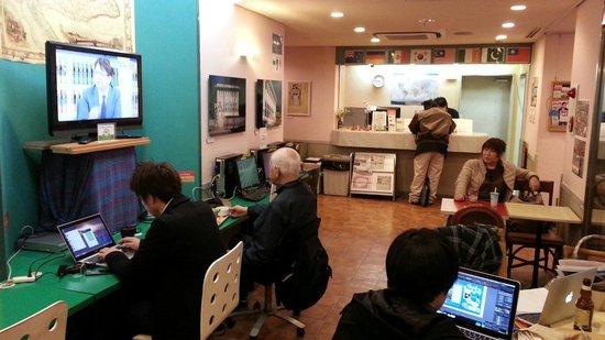 Sakura Hotel Ikebukuro: internet service