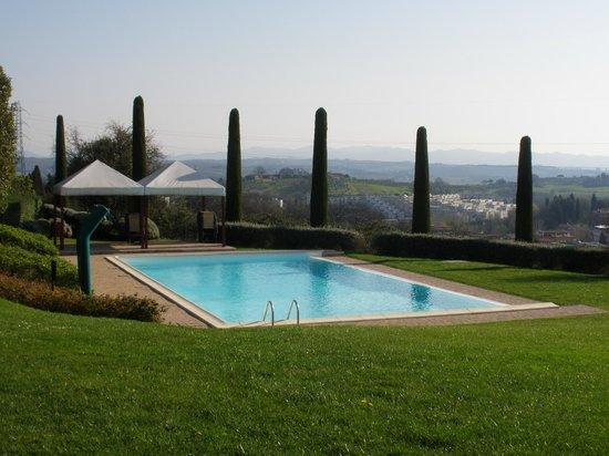 Sangallo Park Hotel : Piscina con las vistas