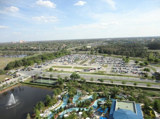 Hilton Orlando : From 18TH Floor pool area
