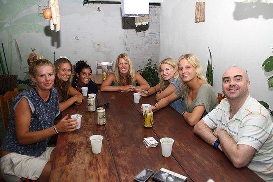 Casa Coco Verde - Pousada & Hostel: Barbecue at the hostel