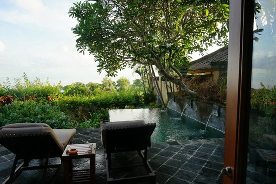 AYANA Resort and Spa : お部屋のプール