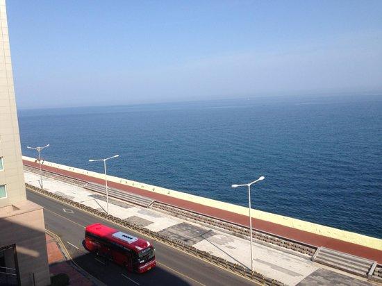 Ocean Suites Jeju Hotel: Ocean view